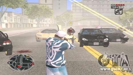 Ultra HUD v2.0 pour GTA San Andreas deuxième écran