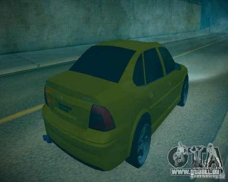 Opel Vectra B für GTA San Andreas Innenansicht