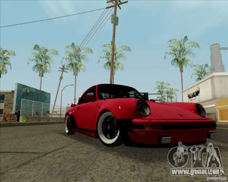 Porsche 911 Turbo pour GTA San Andreas laissé vue