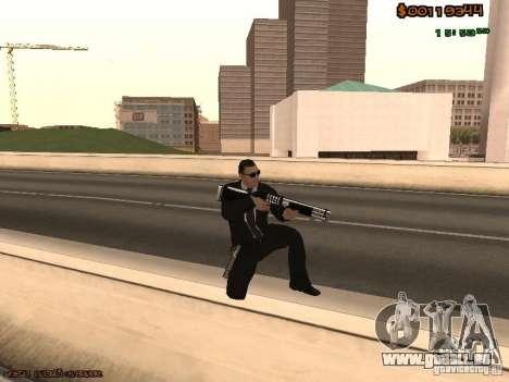 Gray weapons pack pour GTA San Andreas troisième écran