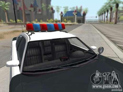GTA 4 TBoGT von Buffalo für GTA San Andreas Rückansicht
