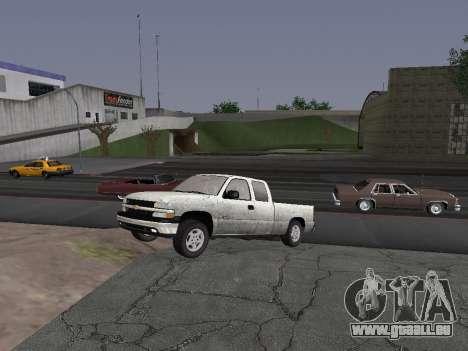 Chevorlet Silverado 2000 für GTA San Andreas linke Ansicht