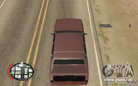 Trunk Hide für GTA San Andreas zweiten Screenshot