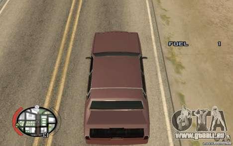Trunk Hide pour GTA San Andreas deuxième écran