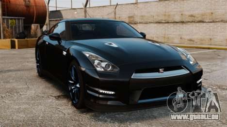 Nissan GT-R Black Edition (R35) 2012 für GTA 4