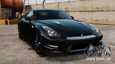 Nissan GT-R Black Edition (R35) 2012 pour GTA 4