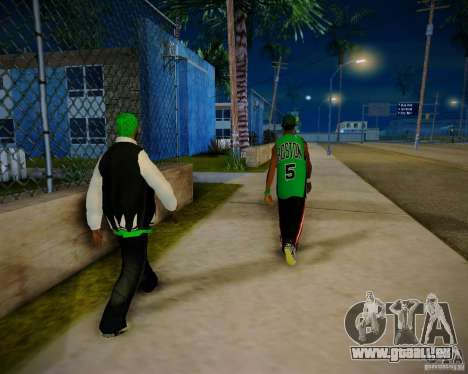 Skins pack gang Grove für GTA San Andreas sechsten Screenshot