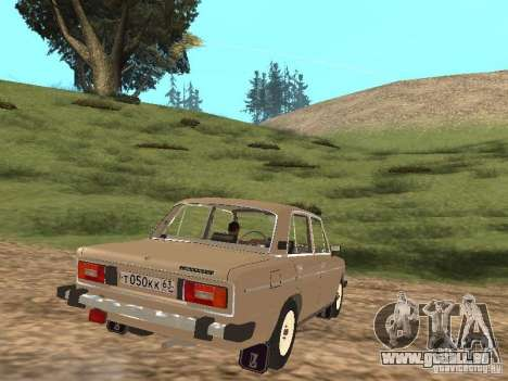 VAZ 2106 für GTA San Andreas rechten Ansicht