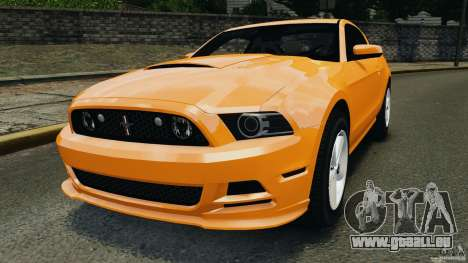Ford Mustang 2013 Police Edition [ELS] für GTA 4