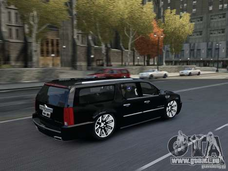 Cadillac Escalade ESV 2012 DUB für GTA 4 Innenansicht