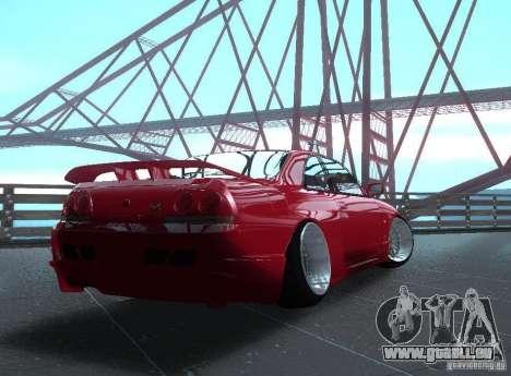 Nissan Skyline R33 pour GTA San Andreas vue de droite