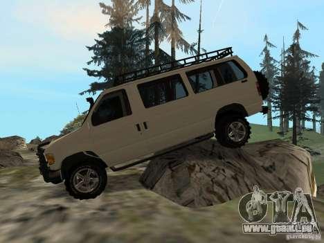 Ford E-150 OffRoad pour GTA San Andreas vue intérieure