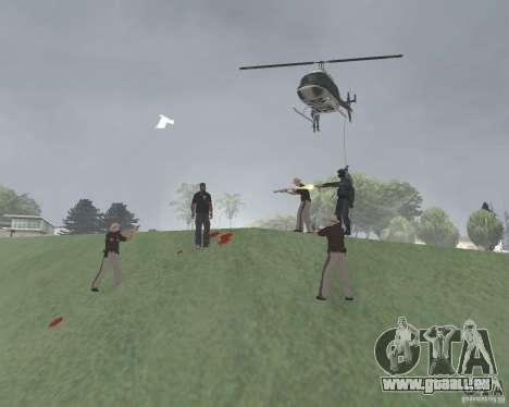 Zone réglementée Vinewood pour GTA San Andreas deuxième écran