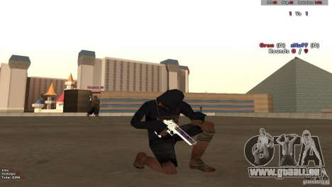 New Chrome Guns v1.0 pour GTA San Andreas