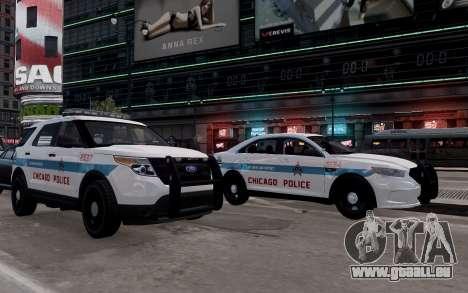 Ford Explorer Chicago Police 2013 für GTA 4 rechte Ansicht