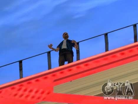 Journaliste pour GTA San Andreas troisième écran