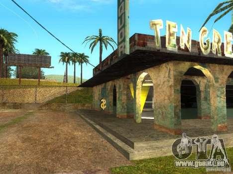 Affaires Cj v1.0 pour GTA San Andreas troisième écran
