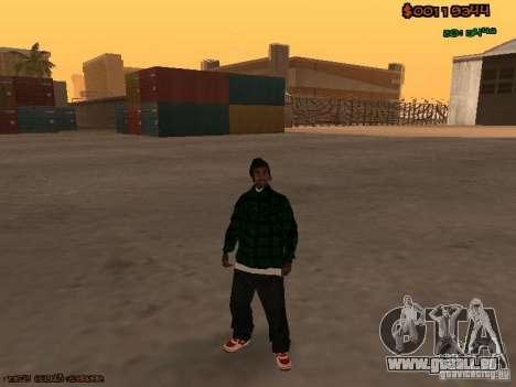 Grove Street Family für GTA San Andreas dritten Screenshot