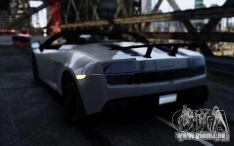 Lamborghini Gallardo LP570-4 Spyder für GTA 4 hinten links Ansicht