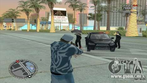 Ultra-modernes HUD für GTA San Andreas her Screenshot