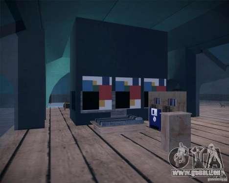 Beach House pour GTA San Andreas cinquième écran