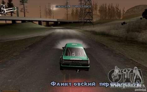 Neue Schriftart für GTA San Andreas fünften Screenshot