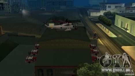 Revival Fire station in San Fierro V 2.0 Final für GTA San Andreas dritten Screenshot