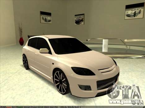 Mazda Speed 3 Stance v.2 pour GTA San Andreas