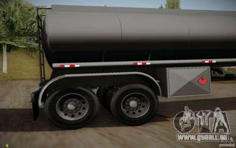 Caravane de Mack Pinnacle Rawhide Edition pour GTA San Andreas vue de droite