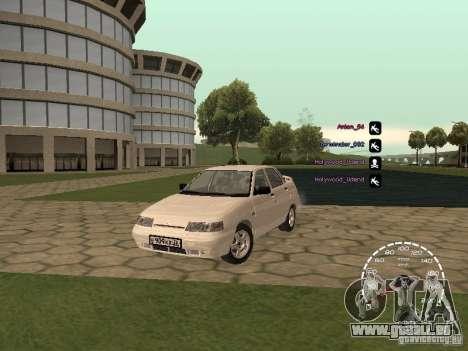 Compteur de vitesse Lada Priora pour GTA San Andreas