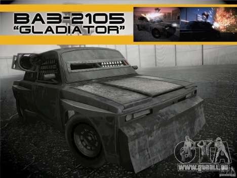 VAZ 2105 Gladiator pour GTA San Andreas