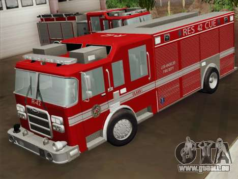Pierce Contender LAFD Rescue 42 für GTA San Andreas