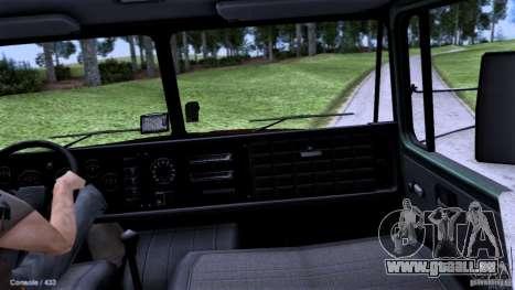 École de conduite de camion pour GTA San Andreas vue de droite