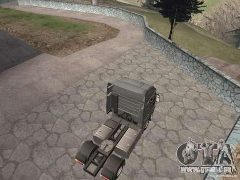 Iveco Stralis GTS pour GTA San Andreas sur la vue arrière gauche