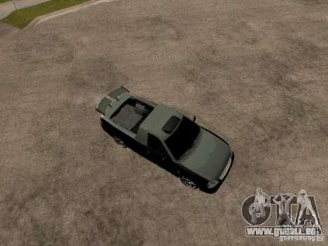 Lada Priora Pickup pour GTA San Andreas vue de droite