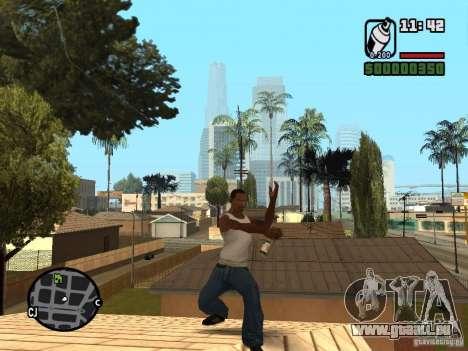 Bombe aérosol pour GTA San Andreas troisième écran