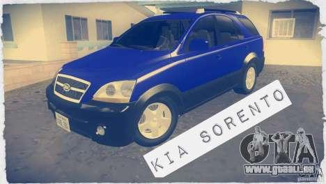 Kia Sorento für GTA San Andreas