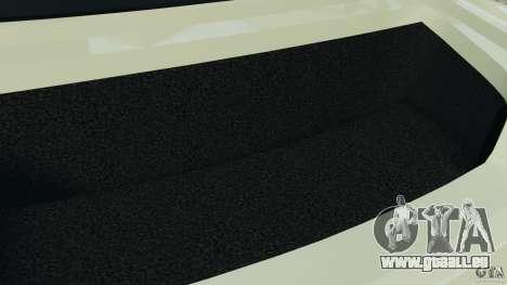 Nissan GT-R 2012 Black Edition pour GTA 4 est une vue de dessous