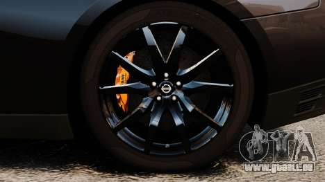 Nissan GT-R Black Edition (R35) 2012 pour GTA 4 Vue arrière
