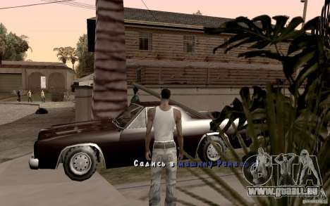 Neue Schriftart für GTA San Andreas siebten Screenshot