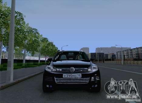 Volkswagen Touareg 2012 für GTA San Andreas Rückansicht