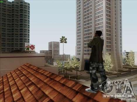 Gentleman Dance Animation pour GTA San Andreas cinquième écran