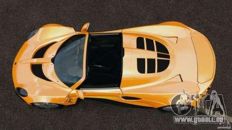 Hennessey Venom GT Spyder pour GTA 4 est un droit