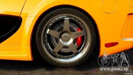 Mazda RX-7 Veilside Tokyo Drift pour GTA 4 est une vue de l'intérieur