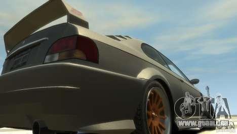 Sentinel Grand Sport pour GTA 4 Vue arrière