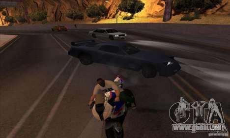 No wanted v1 pour GTA San Andreas quatrième écran