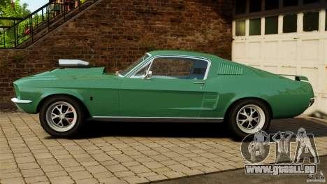 Ford Mustang 1967 pour GTA 4 est une gauche