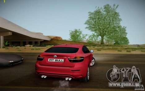BMW X6 v1.1 für GTA San Andreas rechten Ansicht