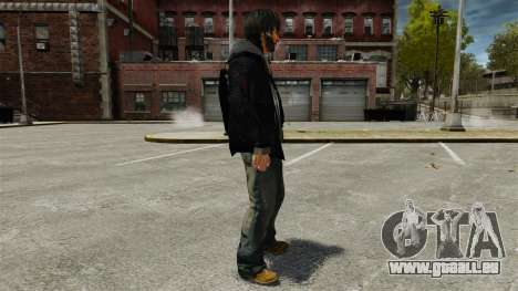 Sam Fisher-v1 für GTA 4 Sekunden Bildschirm