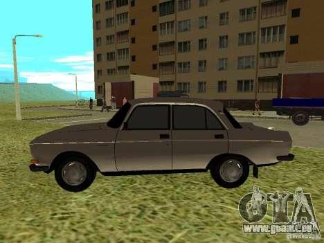 Moskvich 2140 für GTA San Andreas zurück linke Ansicht